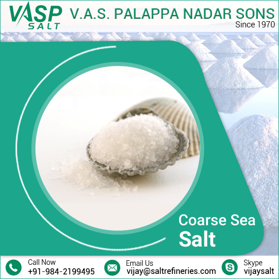 Certified Calcium-Rich Coarse Sea Salt at Low Price