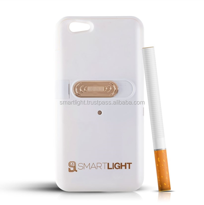 Hot new products for 2016 White mobile phone lighter case for iPhone 6 6S