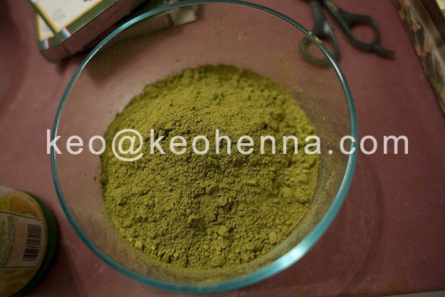 100% Herbal Hair Color Powder