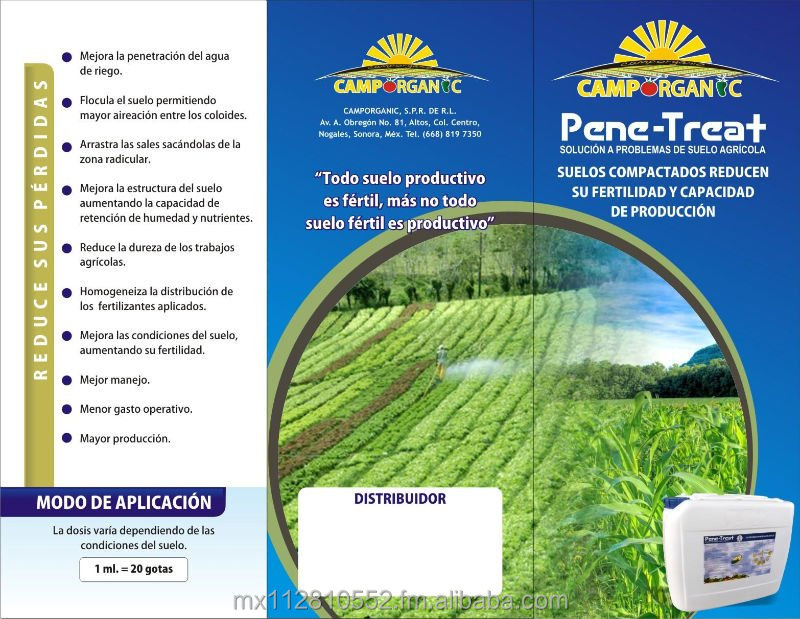 PENE-TREAT ORGANIC SOIL TREATMENT