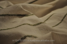 Hand woven Cotton recycle Fabrics