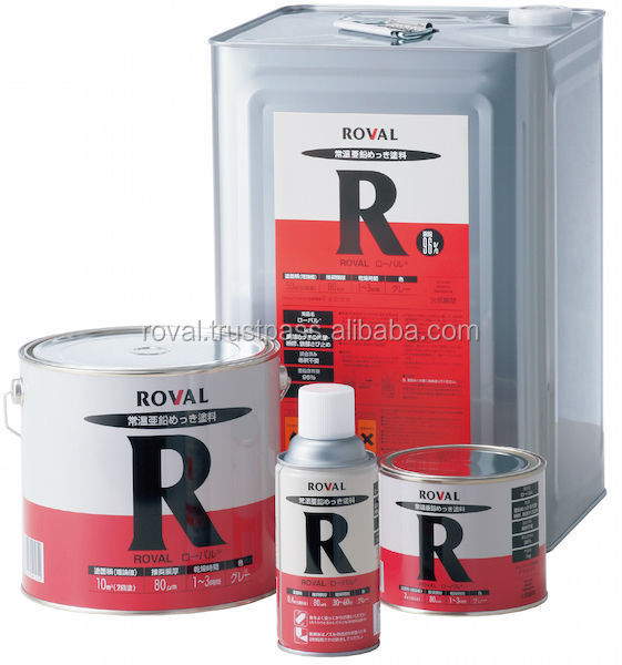 Reliable zinc coating spray with multiple functions , Silver color also available