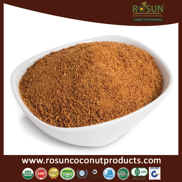 Natural Crystal Coconut Palm Sugar in Bulk