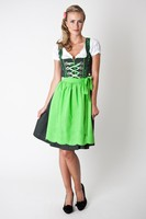Dirndl, maxi dirndl, long size dirndl with apron