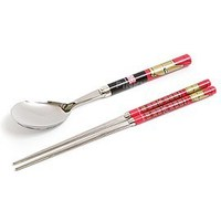 Korea Character Tableware Products - Spoon & Fork & Chopsticks stainless steel