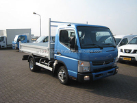 USED TRUCKS - MITSUBISHI FUSO CANTER 3C13 TIPPER (LHD 6566)