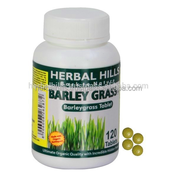 Barley grass for enhancing strength and power . 120 Tablets