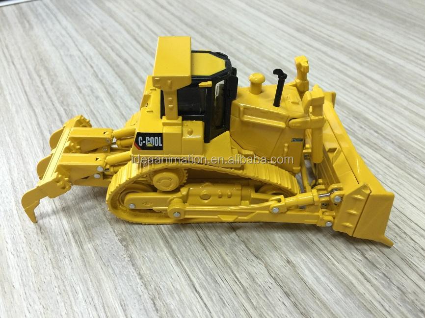 1 43 T 40 Die Cast Bulldozer Model Toy Replica Mini Dozer