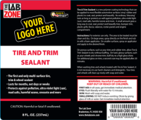 Private Label Tire and Trim Sealant