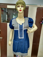 2016 New Style Blue Denim Girl's Top / All Sizes / OEM / 100% Quality