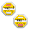 ShockWatch 2 Strike Shock Impact Indicator Label Shock Damage Detector Drop - Different Sensitivities Available