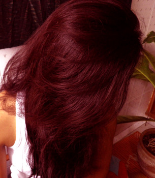 Natural Red Hair Color, Made by Herbs and Henna Powder
