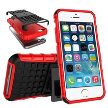 For Apple Iphone 5SE Case 2 in 1 Hybrid Durable Shield Armor Rugged TPU+PC Silicon Shockproof Back Cover