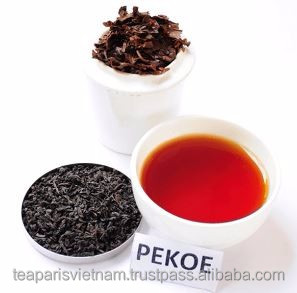 Best black tea type Pekoe nutrition facts for sale and high quality from famous blends Vietnam black tea and green tea products.