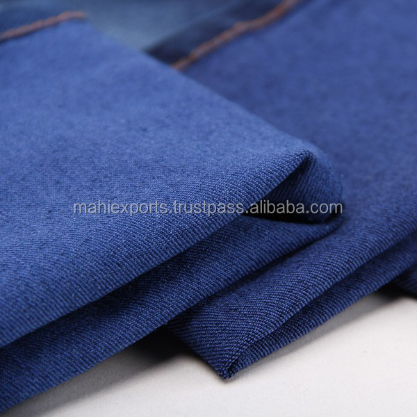 Indian manufacturer 100% cotton Latest twill denim fabric for Shirts