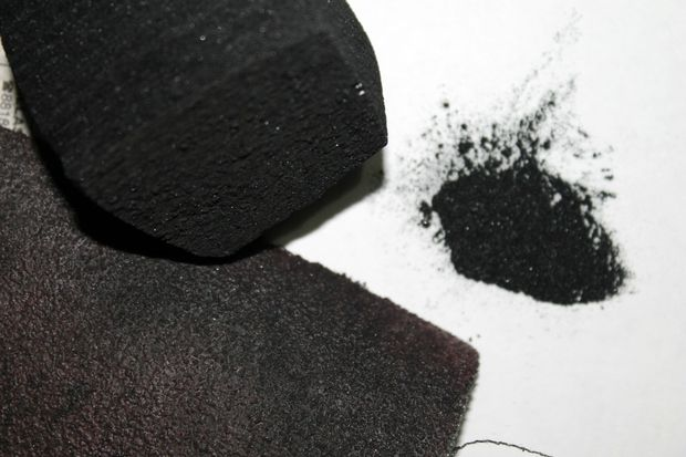 Coal Dust Powder for making Incense Stick