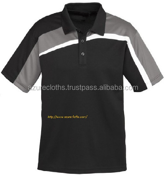 Mix color sport polo shirts for men garment factory in vietnam