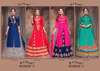 punjabi latest hand work salwar kameez designs/bhagalpuri silk salwar kameez suits/D C Mirror-2