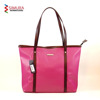 PU Leather Long Handle Tote Bag