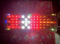 65 LED Combination tail light Leyland type for trucks & trailers
