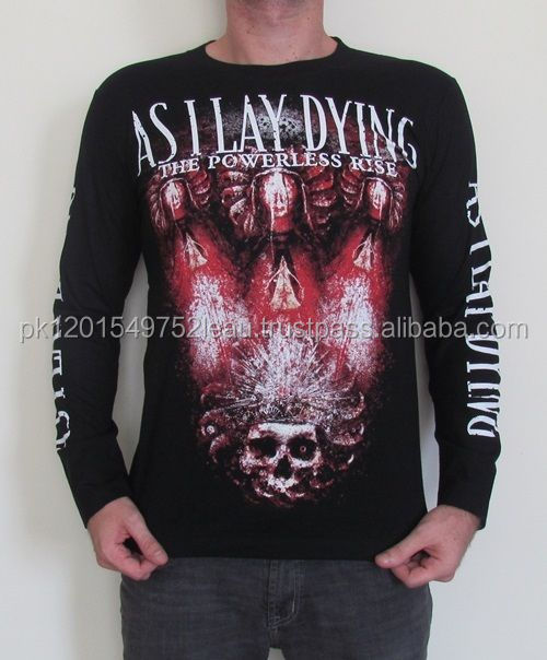 As I Lay Dying Long Sleeve T Shirt