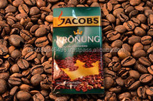 Jacobs Kronung Gold German Instant Soluble Ground Coffee - 90 Single