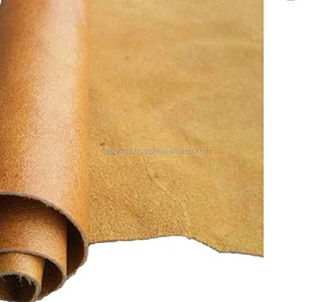 REED CAMEL LEATHER HIDES - COW SKINS 8 inches X 11 Inches/Best quality by TAIDOC