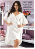 women sexy nightdress gown set ladies babydoll lingerie