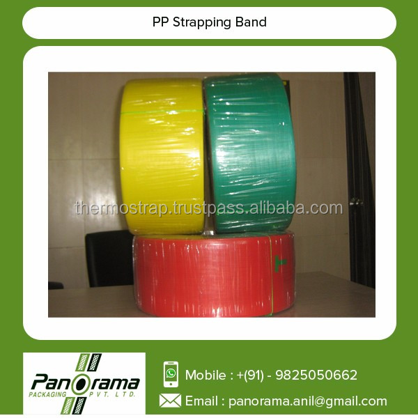 Top Manufacturer and Supplier of PP Strapping Band with Printed Name and Logo of Client Company