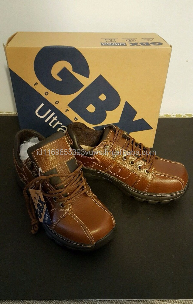 GBX Ultra 3 -Men's 8 Med- Brown Pebbled Lea HIKING