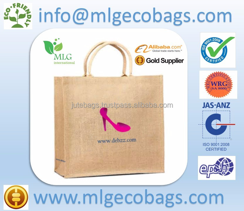 Jute bangladesh indonesia Bags Promotional by MLG (Kolkata, West Bengal)