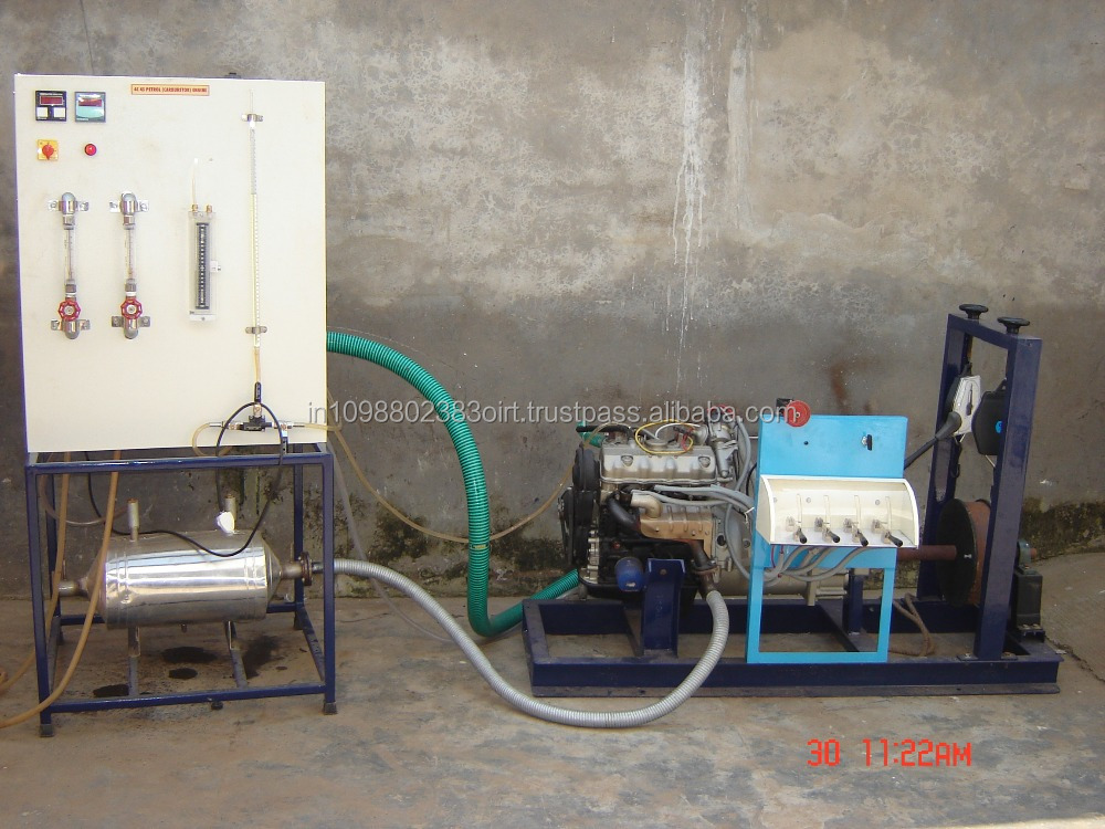 Four cylinder four stroke petrol engine test rig / IC engine training equipment / Automobile teaching equipment