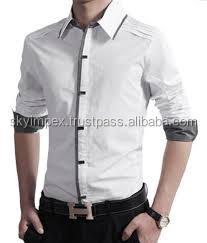 Men's fashional Dress Shirt Custom made Casual Slim Fit Shirt
