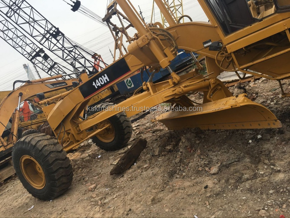 wholesale used caterpillar 140H tractor road grader for sale