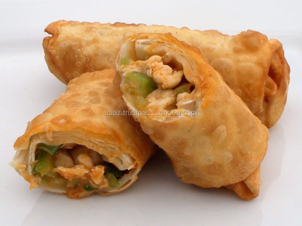 Fried Spring Roll , Non Fried Chicken Spring roll , Vegetable Spring Roll , Frozen Mutton Spring Roll , Potato Spring roll