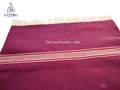 Prayer Cotton Rug / Indian made Cotton Yoga Rug / Handloom Traditional Yoga Rug
