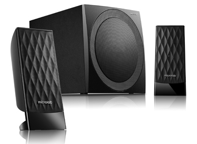 Microlab M-300 2.1 Speakers/ 40W RMS (2x10W+20W)