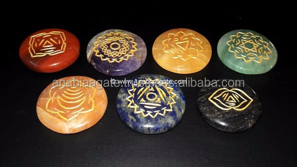 Chakra Set tibetan singing bowl set