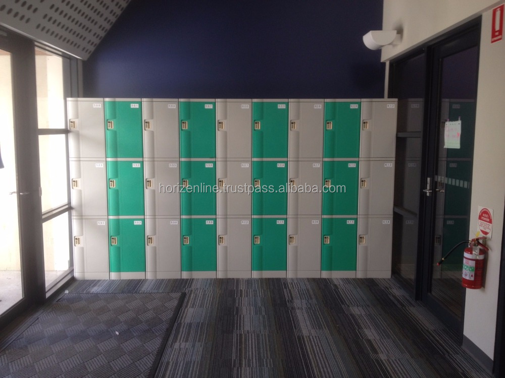 Three Tiers ABS Lockers
