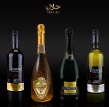 LUSSORY ALCOHOL REMOVED HALAL WINES AND SPARKLING