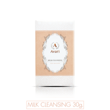Best Facial Cleansing Wash Makeup Remover for all skin type from Natural Ingredients with Milk 30 g.