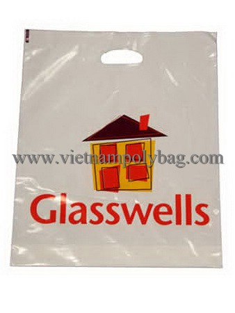 D2W reinforced handle bag plastic bag made in Vietnam