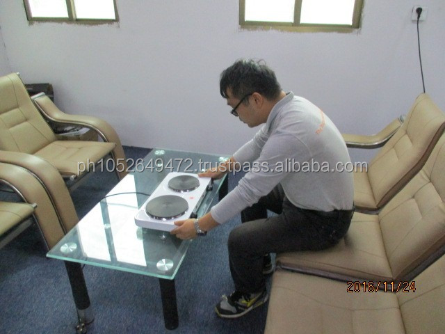 Electric stove During Production (DuPro) Inspection in China