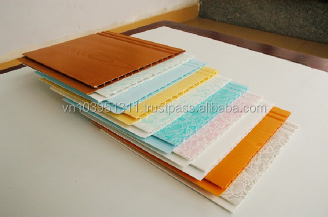 Extruded sheet PVC ceiling panel