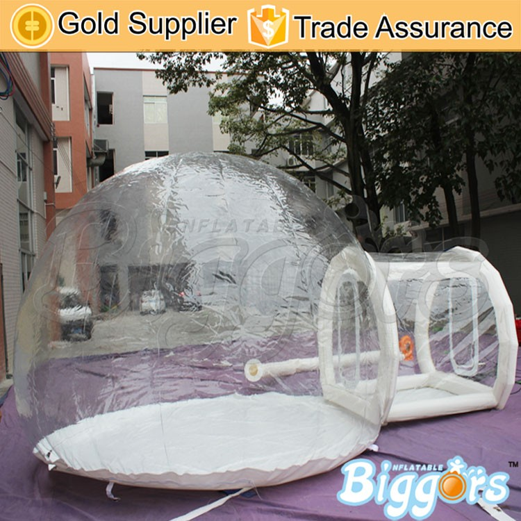 Inflatable Transparent Bubble Dome Camping Tent