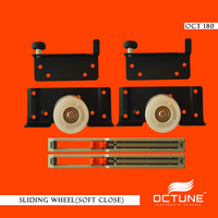 WARDROBE SLIDING WHEEL FOR DOUBLE TRACK