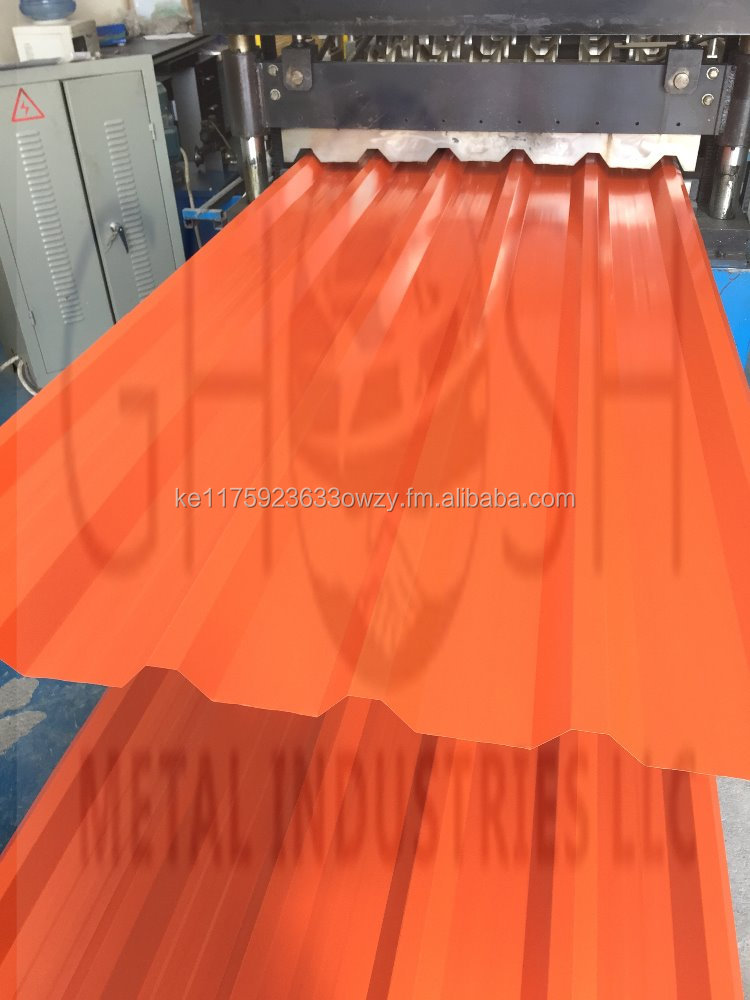 Ghosh Metal PrePainted galvanized Iron Roofing Sheet For Shade Ware House Or Eny Kind Of Industrial Uae