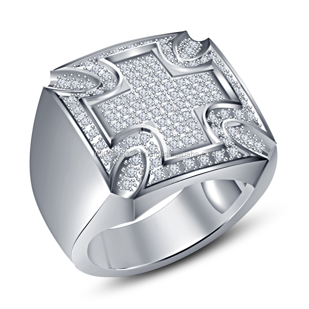 Ready 3d CAD Men's Ring