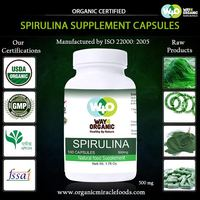 The Nature Pure Spirulina Capsules For Bulk Export