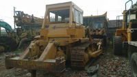 Japan Caterpillar D7G bulldozer for sale , Cheap used D7G cat dozers in Shanghai